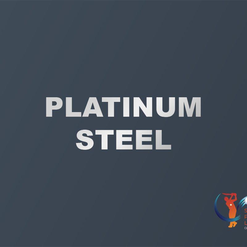 platinum steel